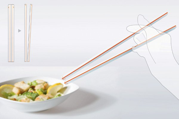 Re-paper Chopstick by Ran Hee Chung