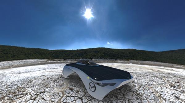 Mazda Aurora - Solar Concept Car by Ali Jafari