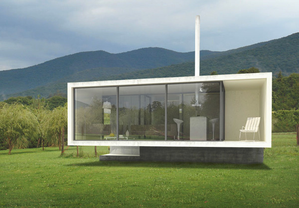 Bungaloo - Thermal Energy Supported Bungalow by Paul Cremoux