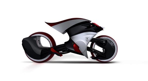 Tesla E-max Motorbike by Madella Simone