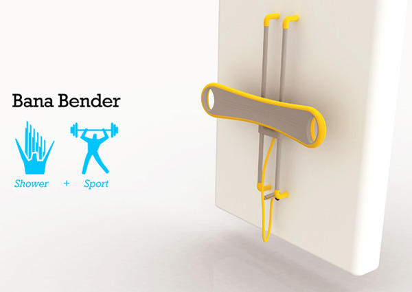 Best Design News bana_bender Sweaty In The Shower Hot Design  Designers Hong Ruei Hong Bana Bender