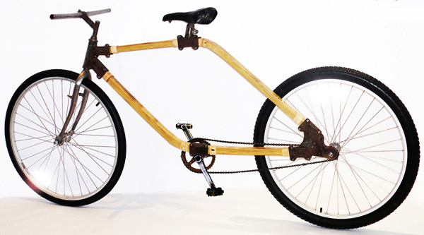 Bamboo Bike | Yanko Design