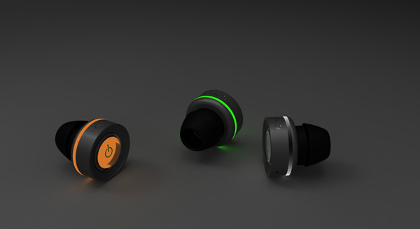 Where To Buy Leewa Bluetooth Wireless In-Ear Stereo Headphones Waterproof Sports Headphones (Blue)