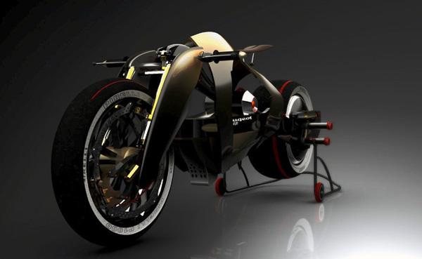 Peugeot 515 - Motorbike by Madella Simone