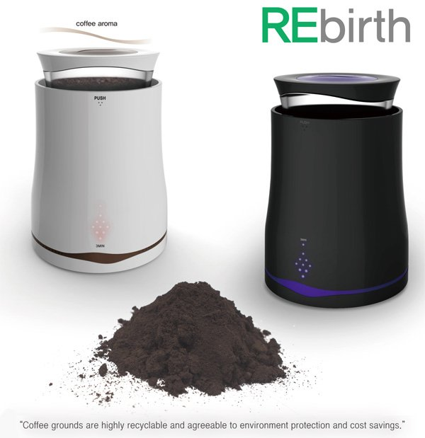 ReBirth – Coffee Grounds Dryer by Seul-gi Kim