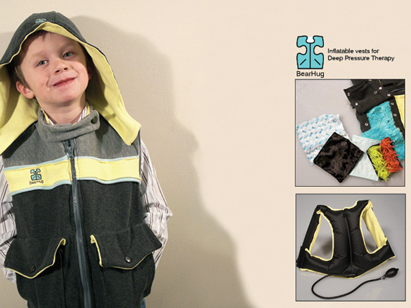BearHug – Pressure Jacket for Autism Children by Lisa Fraser