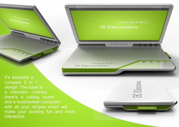 Best Design News electrolux_cooking_laptop Age of the Notebook Kitchen? Hot Design Best Design News electrolux_cooking_laptop3 Age of the Notebook Kitchen? Hot Design Best Design News electrolux_cooking_laptop4 Age of the Notebook Kitchen? Hot Design
