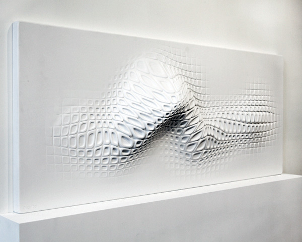 Wall Sculpture Made For Touch Yanko Design