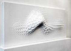 Wall Sculpture Made for Touch