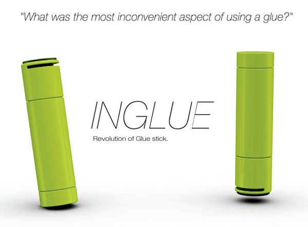 InGlue – Glue Stick Redesign by Dohyung Kim, Sewon Oh, Yunehee Baek & Hyunchul Choi
