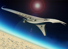 Long Range Jet with Zero Emissions