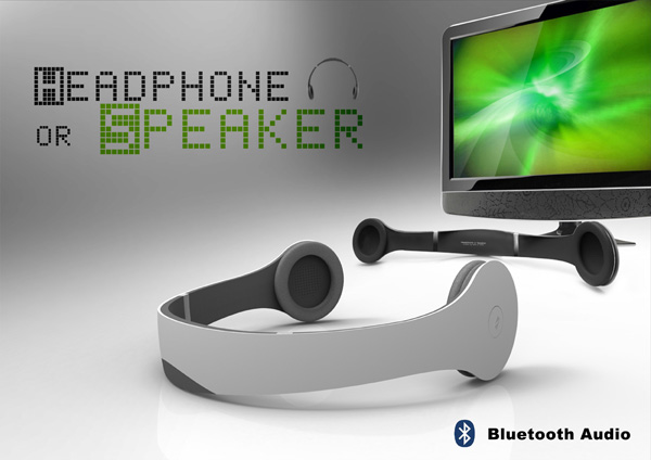 Headphone or Speaker by Lu Chieh Hua