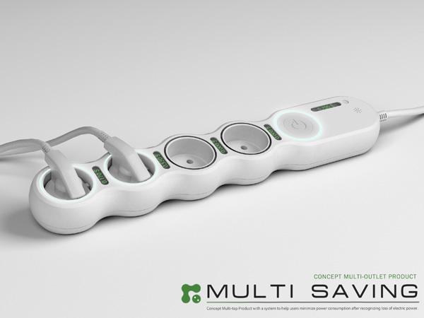 Multi Saving Power Strip by Hyungwoo Uhm
