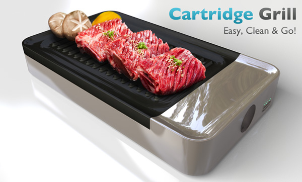 Best Design News cartridge_grill BBQ Special Hot Design Cartridge Grill BBQ