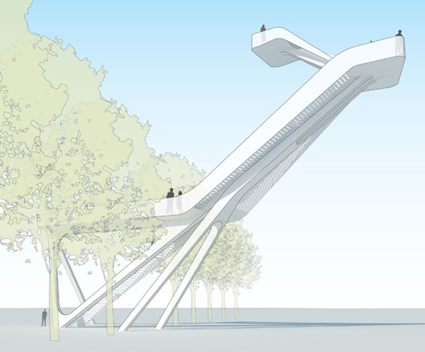 Observation Tower for Natuurmonumenten by UNStudio