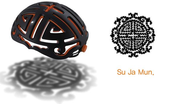 Amulet Helmet by Kim Jungwoo & Kim Yoonsang