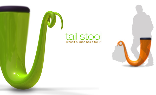 Tail Stool by Y Zin Chang