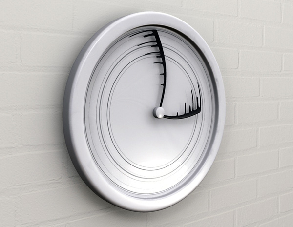 Time Flies - Wall Clock by Igor Vig