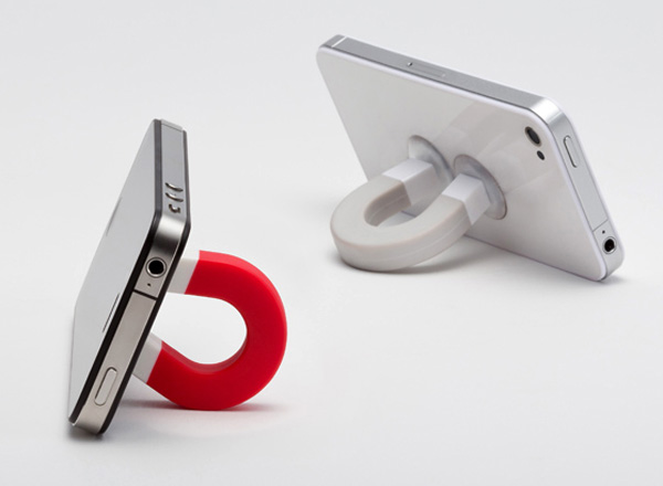 Your Magnet - Magnet Shaped Stand for Gadgets by Lufdesign