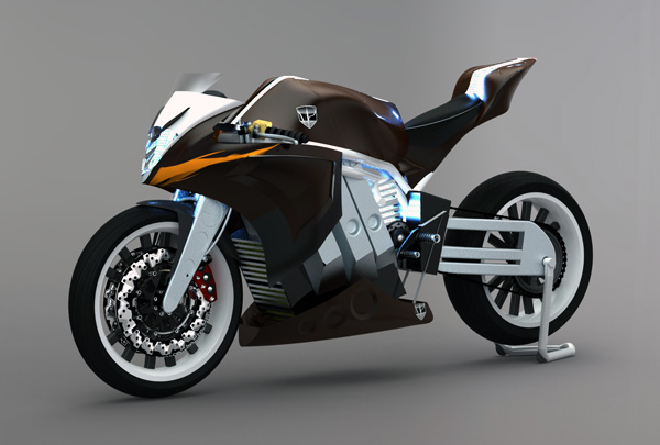 M2 Motorcycle by Pedro Marcondes
