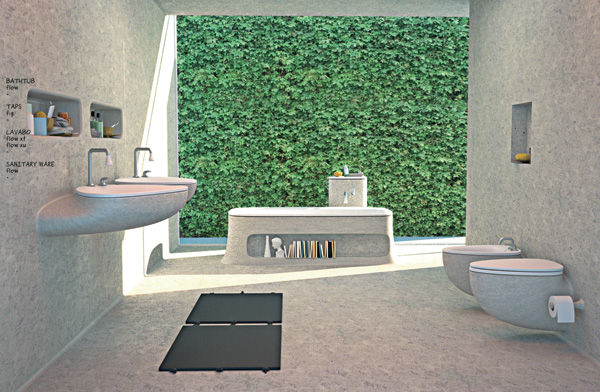 Flow - Bathroom Concept by Art-Tic