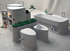 Seamless Bathroom Concept