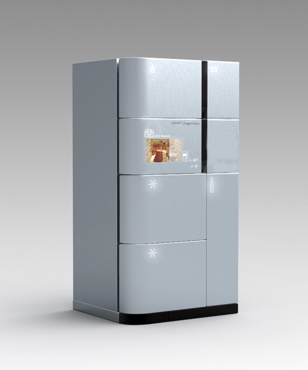 Best Design News smart_fridge Fridge That Knows It All Hot Design Yang Gyeong Designers Jeong