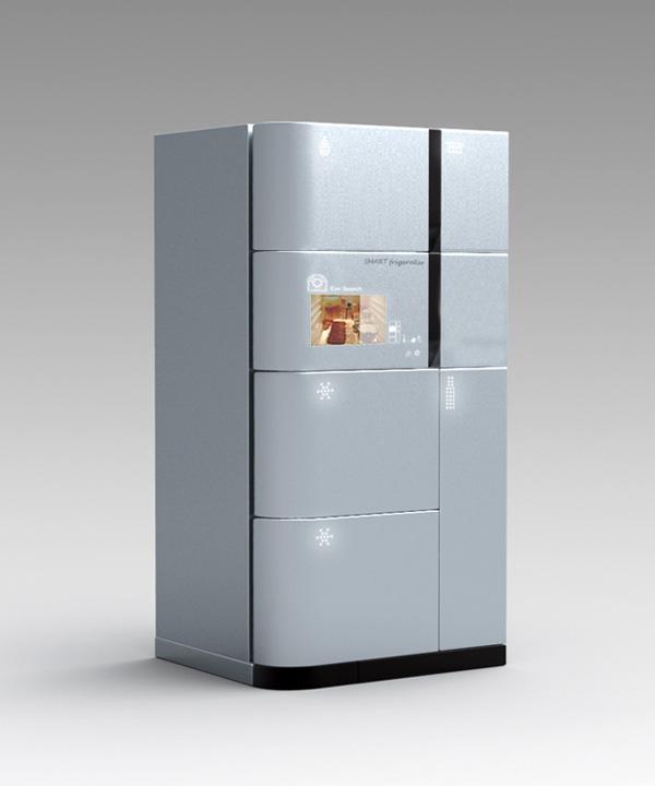 Smart Fridgerator – Refrigerator Design by Jeong-hun Yang & Gyeong-chan Han