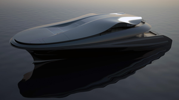 E-Yacht by Charlie Baker