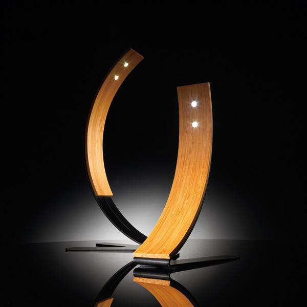 Bendboo Lamp by Tek-Siā Design Studio