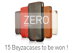 Friday Giveaway: 15 Beyzacases Zero Series Cover for iPhone 4 and iPhone 4S