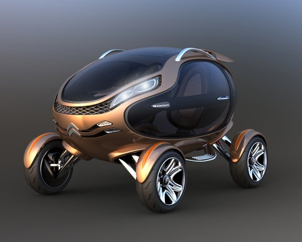 Eggo Concept Electric Car by Damnjan Mitic