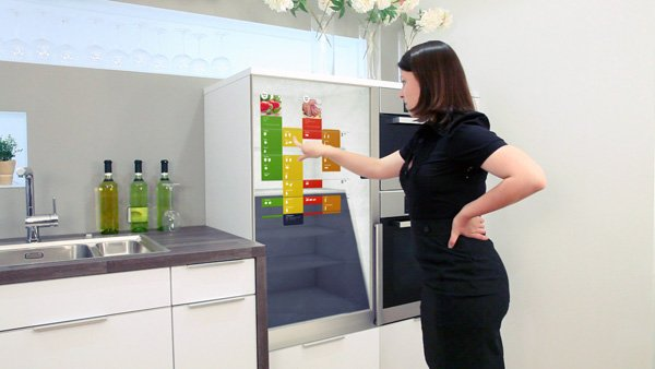 In My Fridge - Intelligent Refrigerator by Fabian Kreuzer & Markus Lorenz Schilling
