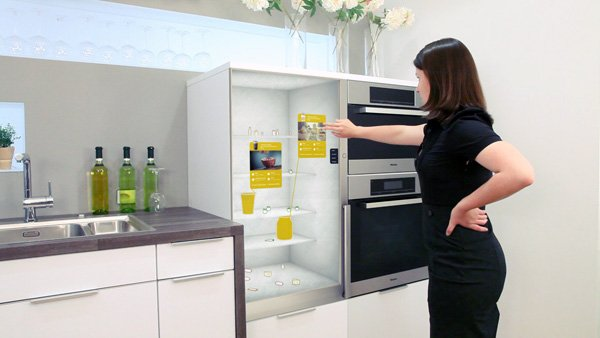 The future fridge yanko design for Future home appliances