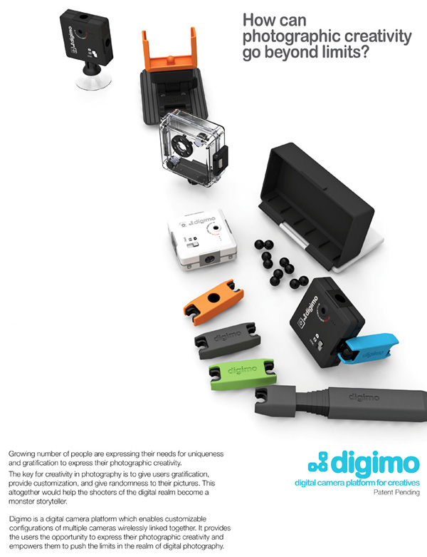 Digimo Camera Concept by Sangik Lee