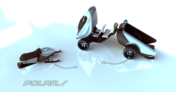Polar - Utility Vehicle by Juha-Pekka Rautio
