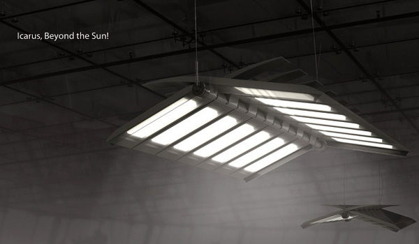 Icarus OLED Light by Sewon Oh, Yonggu Do & Minseon Kim