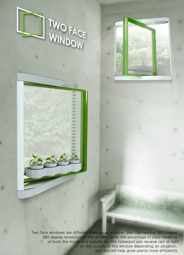 Twoface Window by Junkyung Kim & Yonggu Do