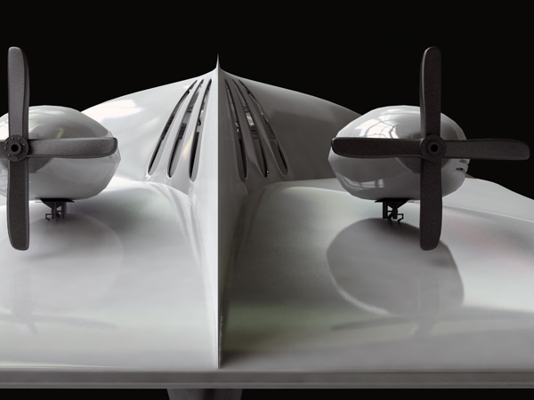 Air Propulsion Yacht