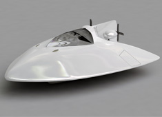Air Propulsion Yacht