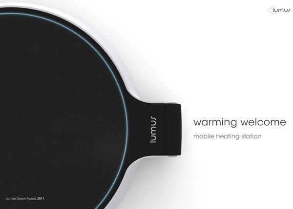 Lumus - Heater by Julia Rotenberger & Oliver Eckstein