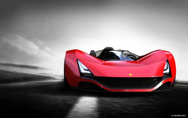 Ferrari Aliante by Arunkumar SHANMUGAM » Yanko Design