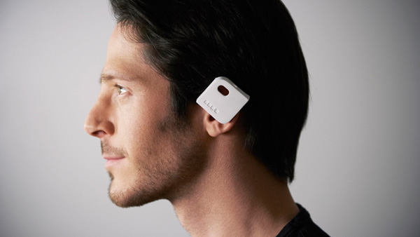 Angle Bluetooth Headset by Michael Harbounand, Thomas Chabrier, and Antoine Coubronne