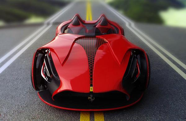 Ferrari Millenio by Marko Petrovic