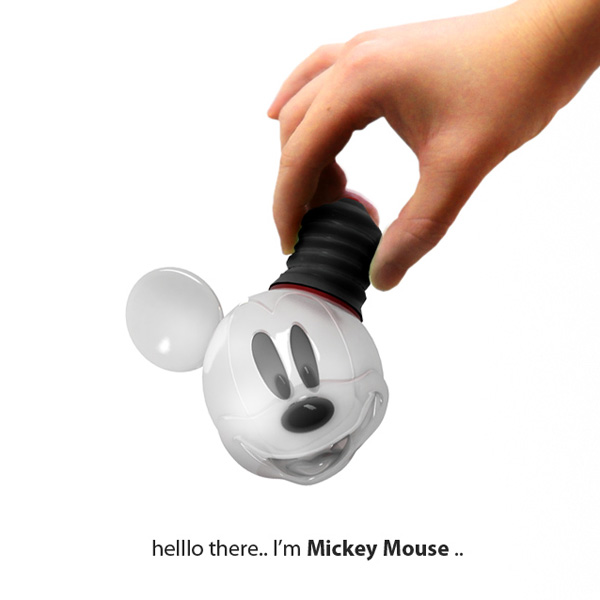 Mickey Mouse Bulb Concept by Hongkue Lee