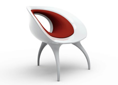 Tear Drop Chair