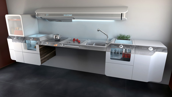 Liberty Project – Kitchen Concept by Helder Filipov & Advanced Design Team, Whirlpool Latin America