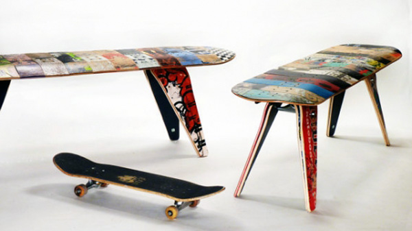 Skateboarding Seating by deckstool on Roodr