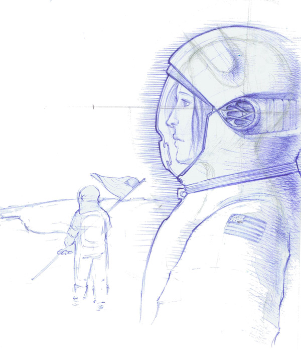 NASA Astronauts Sketch (page 3) - Pics about space