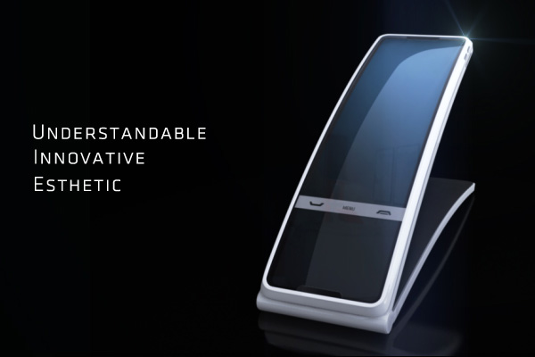 Hello Tomorrow Phone Concept by FORM & DRANG